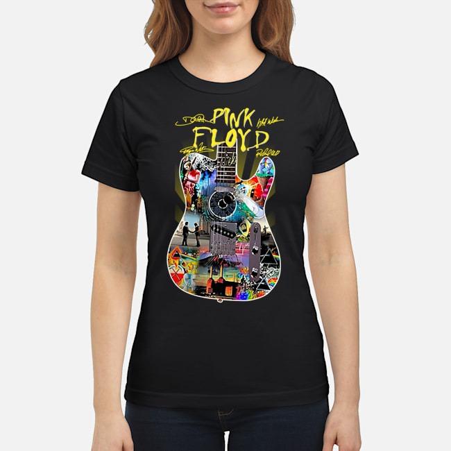 Guitar Pink Floyd signatures ladies