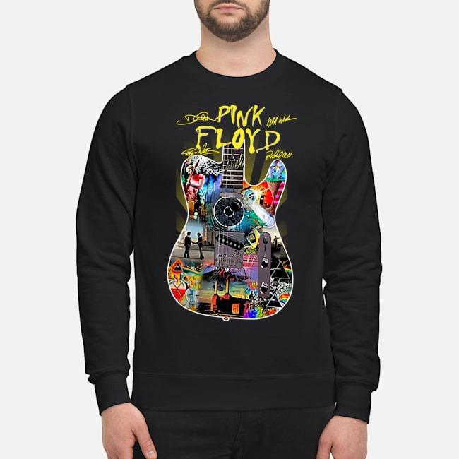 Guitar Pink Floyd signatures sweater