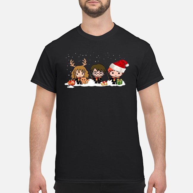 Harry Potter Hermione and Ron Weasley Christmas Shirt
