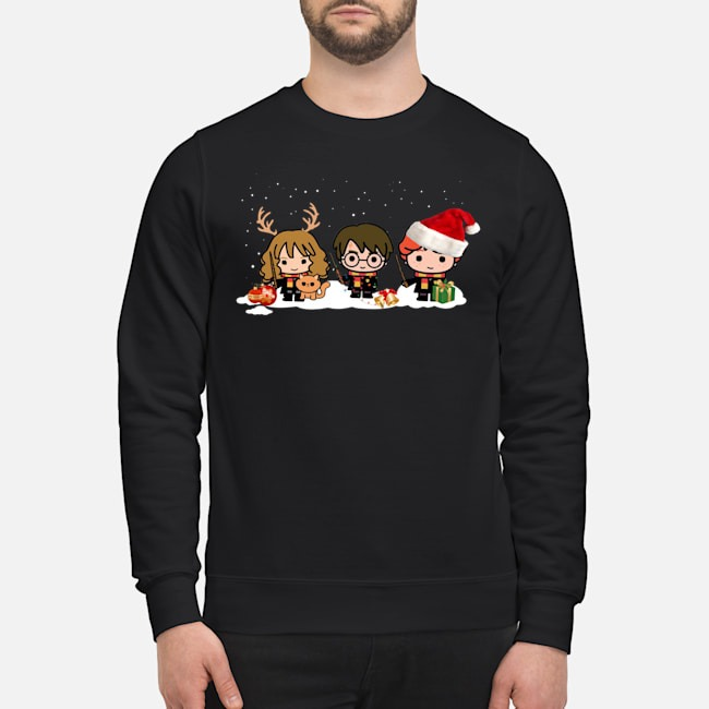Harry Potter Hermione and Ron Weasley Christmas Sweater