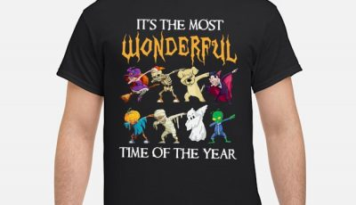 It's the most wonderful time of the year Halloween Dabbing shirt