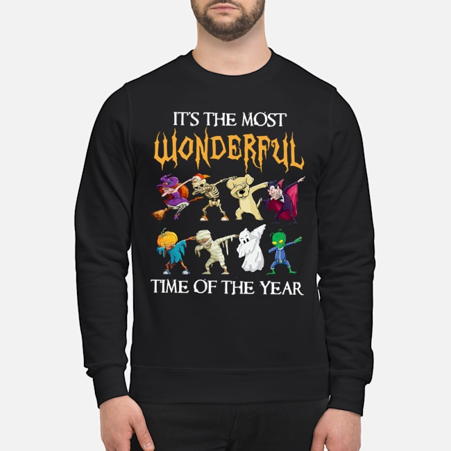 It's the most wonderful time of the year Halloween Dabbing sweater
