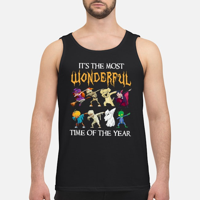 It's the most wonderful time of the year Halloween Dabbing tank top