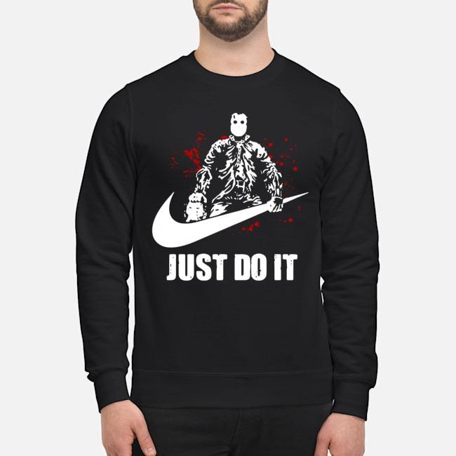 beauty vast selection fantastic savings Just Do It Jason Voorhees Nike Halloween Shirt - kingtees ...
