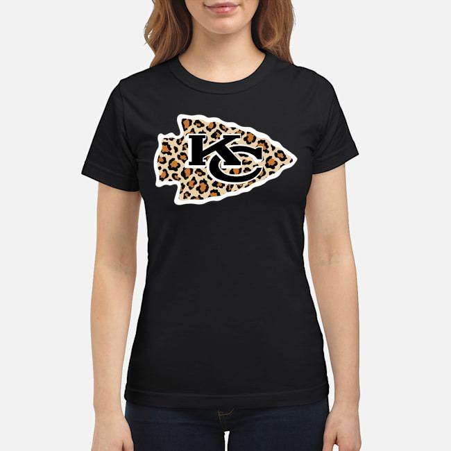 Kansas City Chiefs leopard ladies