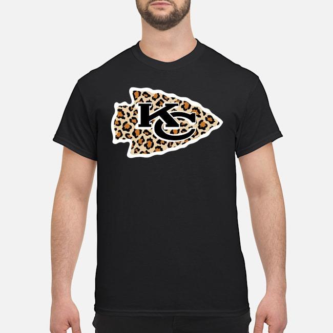 Kansas City Chiefs leopard shirt