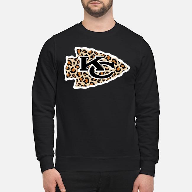 Kansas City Chiefs leopard sweater