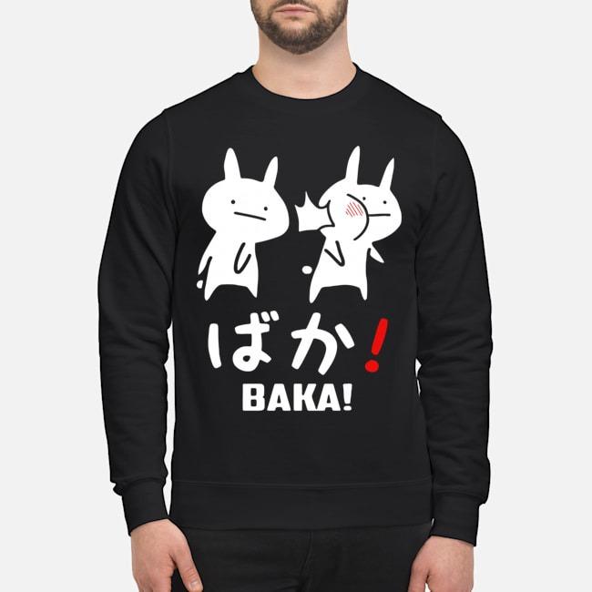 Kawaii Neko Baka Sweater