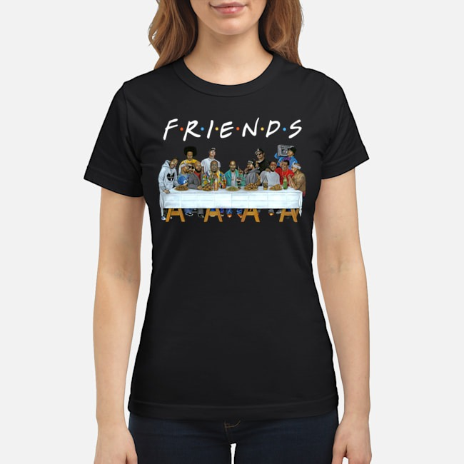 Legends Rapper's Last Supper Friends ladies