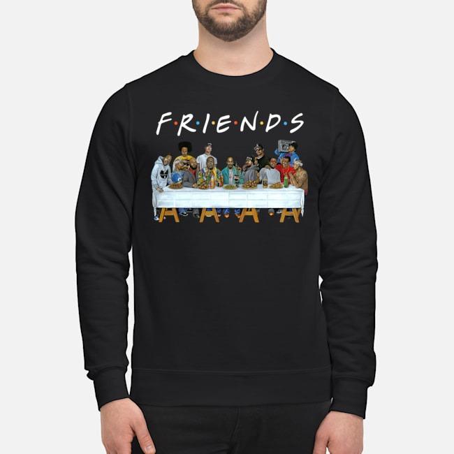 Legends Rapper's Last Supper Friends sweater