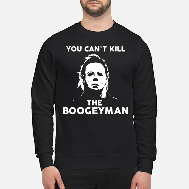 Michael Myers You Can't Kill The Boogeyman Sweater