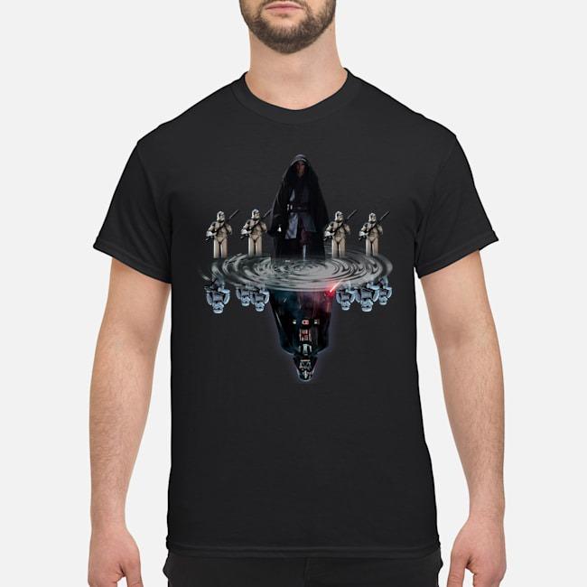 Official Anakin Skywalker Darth Vader Water Reflection Shirt