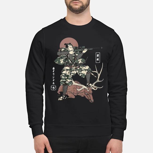 Samurai Hunting sweater