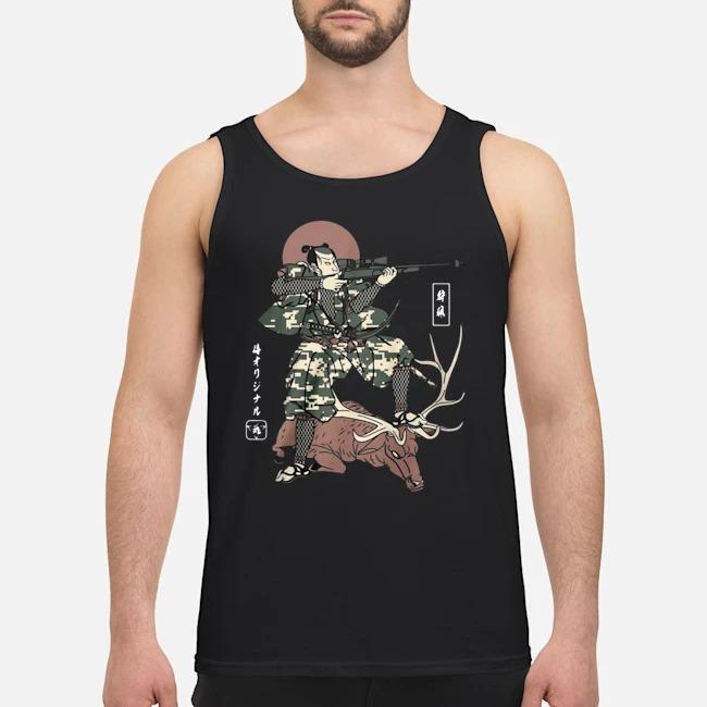 Samurai Hunting tank top