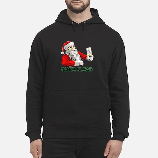 Santa Loves Claws Christmas Hoodie