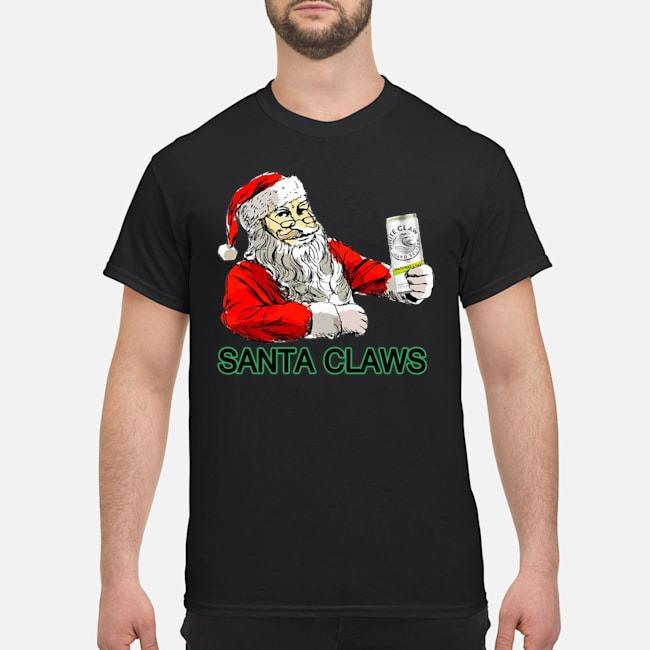 Santa Loves Claws Christmas Shirt