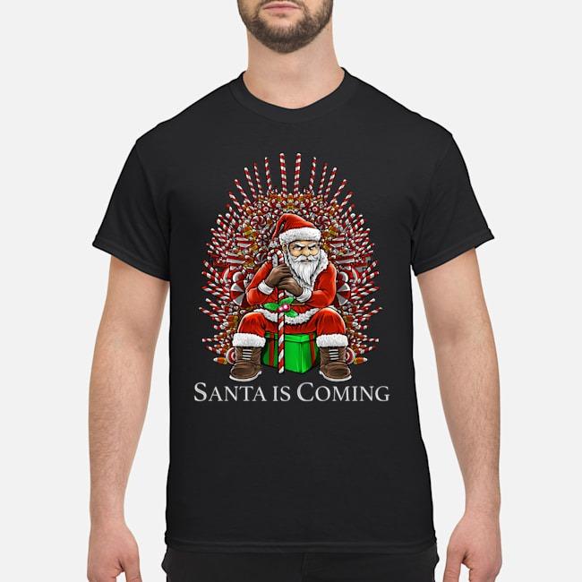 https://kingtees.shop/teephotos/2019/10/Santa-is-Coming-GOT-Christmas-Shirt-1.jpg