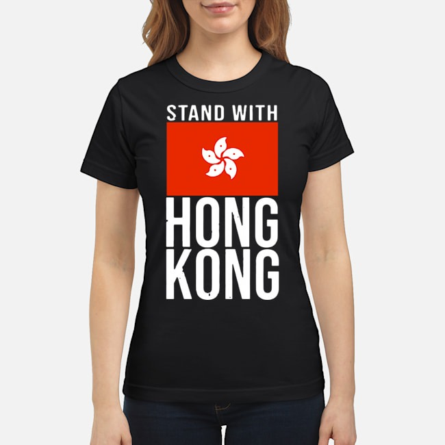 Stand With Hong Kong Flag Ladies