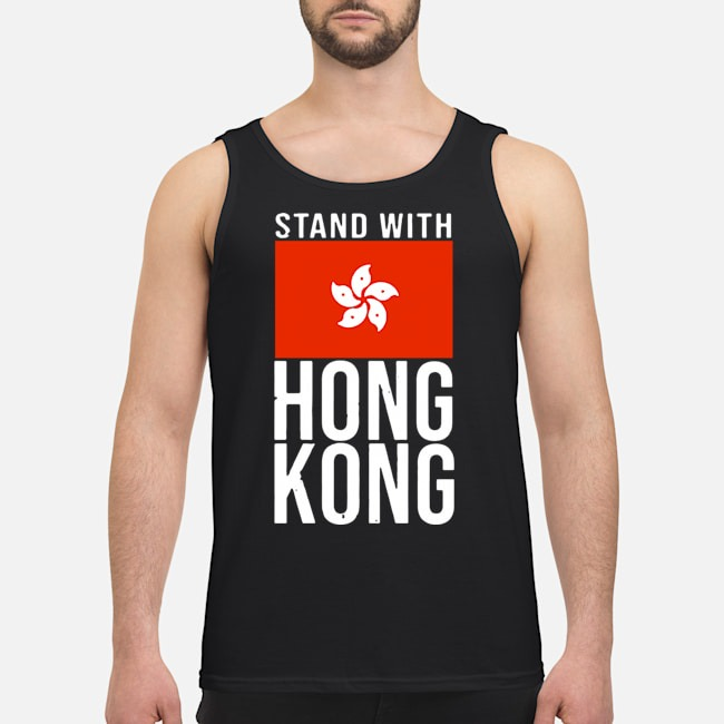 Stand With Hong Kong Flag Tank top