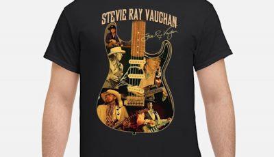 Stevie Ray Vaughan Guitar Signature shirt