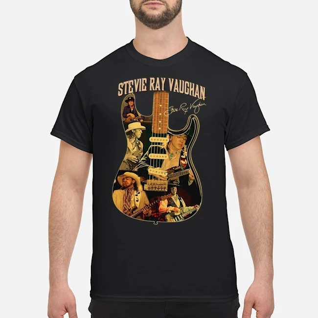 Stevie Ray Vaughan Guitar Signature shirt