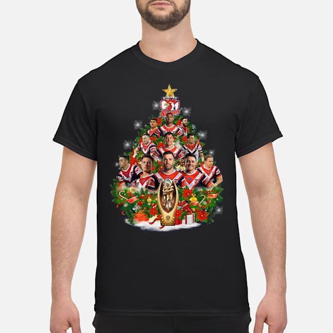 Stony Rooster Christmas Tree Shirt