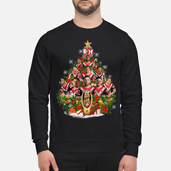 Stony Rooster Christmas Tree Sweater