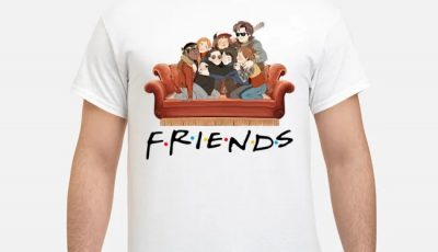 Stranger Things Characters Friends Show Tv Shirt
