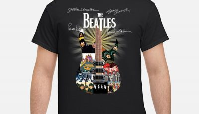 The Beatles Guitar Signatures Shirt