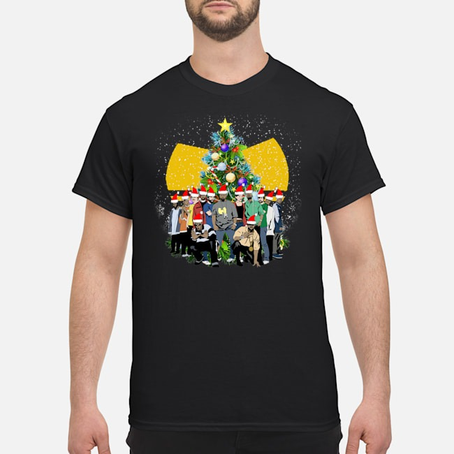Wu Tang Clan Simpsons Christmas Shirt