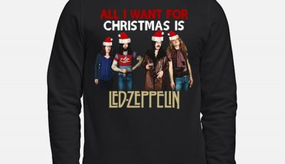 All I Want For Christmas Is Santa Led Zeppelin Ugly Sweater