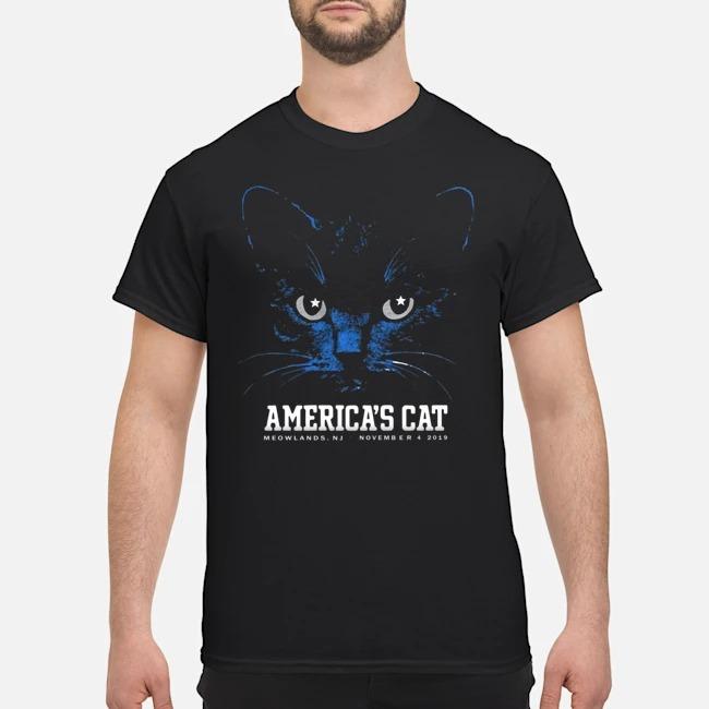 America's Cat Shirt-Dallas Football Black Cat Shirt