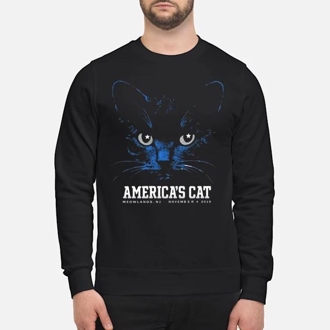 America's Cat Shirt-Dallas Football Black Cat Sweater