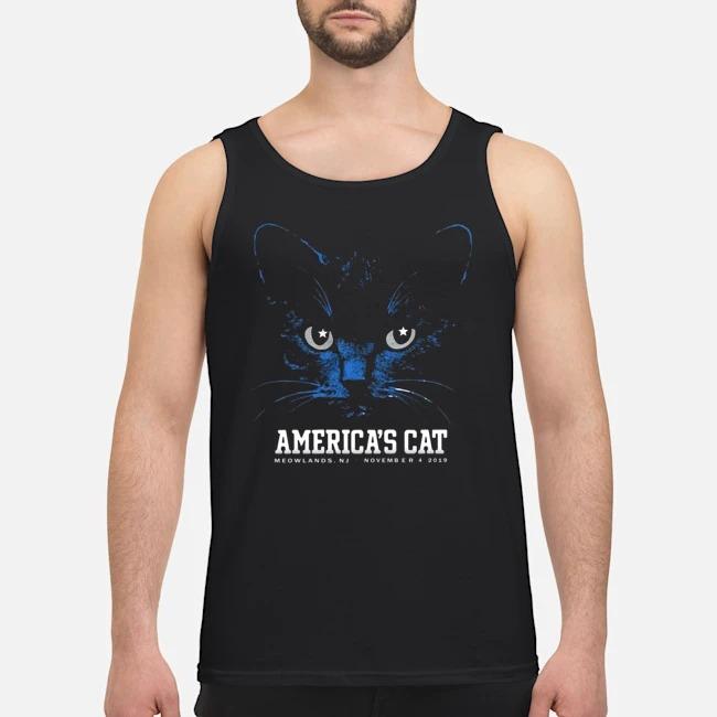 America's Cat Shirt-Dallas Football Black Cat Tank top