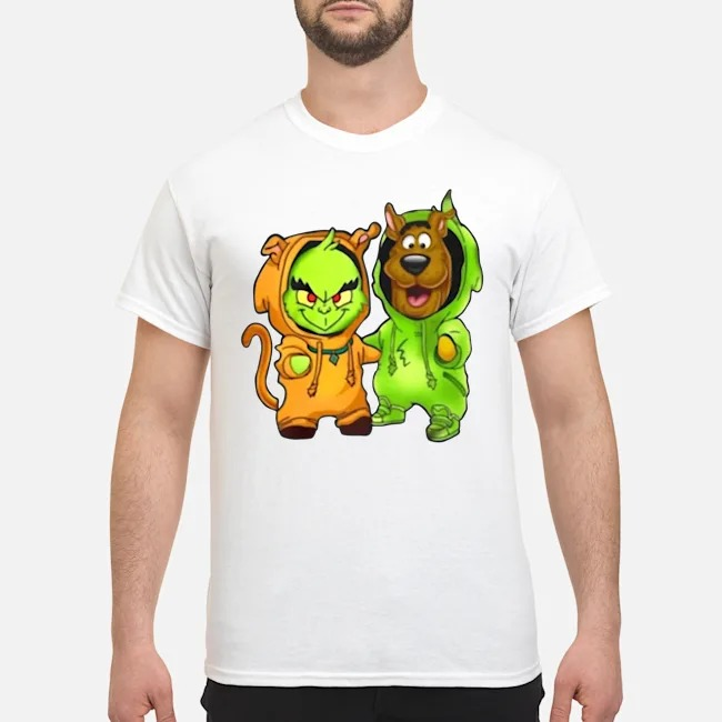 Baby Grinch And Scooby Shirt