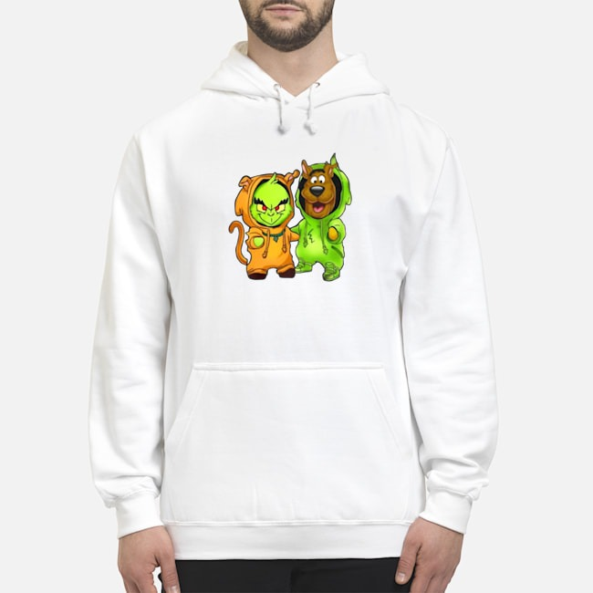 Baby Grinch And Scooby Hoodie