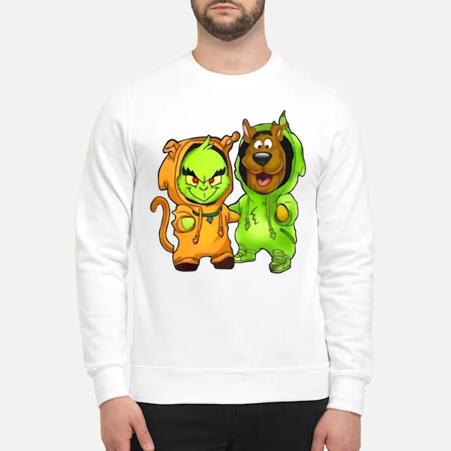 Baby Grinch And Scooby Sweater