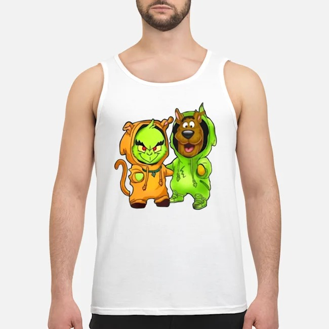 Baby Grinch And Scooby Tank top