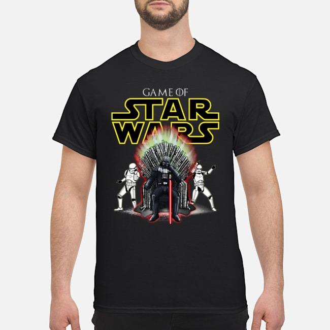 Darth Vader Game Of Star Wars GOT shirt