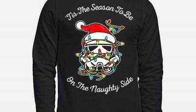 Darth Vader tis the season to be on the naughty side Christmas sweater