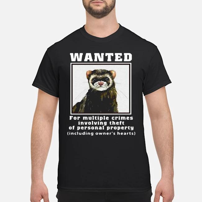 https://kingtees.shop/teephotos/2019/11/Ferrets-Wanted-for-multiple-crimes-involving-shirt.jpg