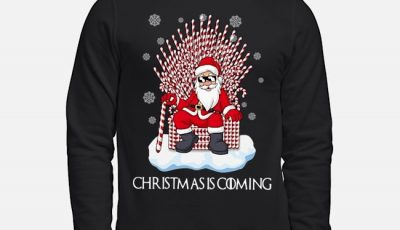Game Of Thrones Santa Christmas Is Coming Sweater