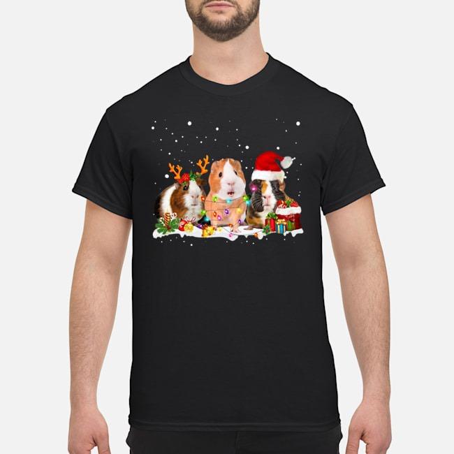 Guinea Pig Santa Christmas Shirt
