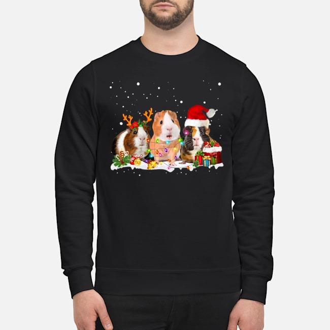 Guinea Pig Santa Christmas Sweater