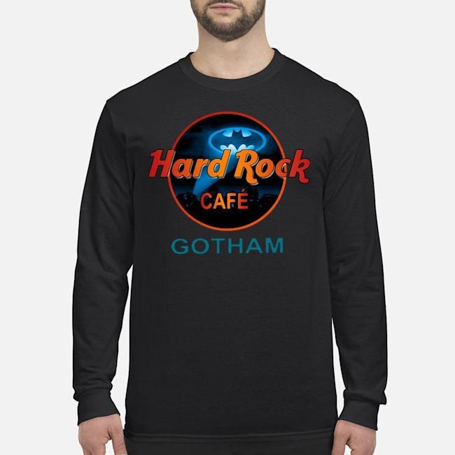 Hard Rock Cafe Gotham Iphone Case Long Sleeved T-Shirt