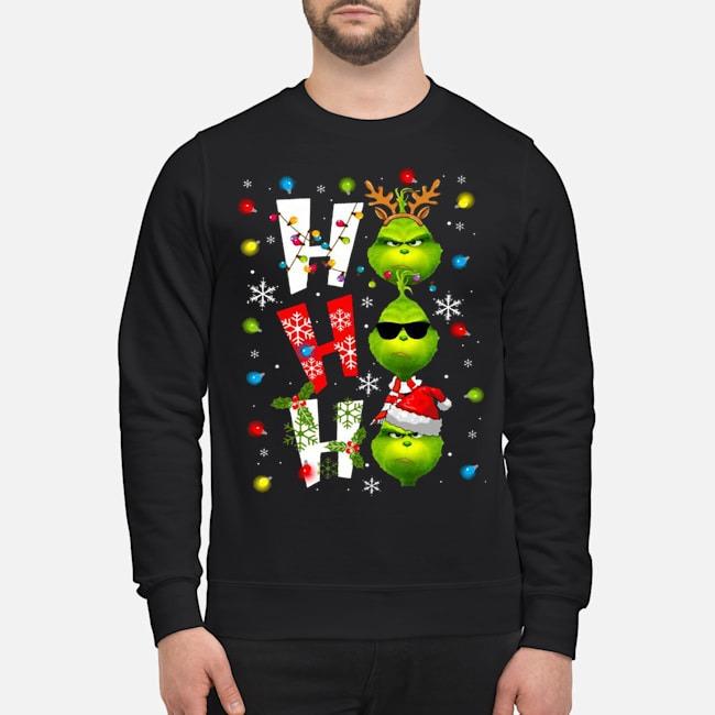 Ho Ho Ho The Grinch Christmas Sweater