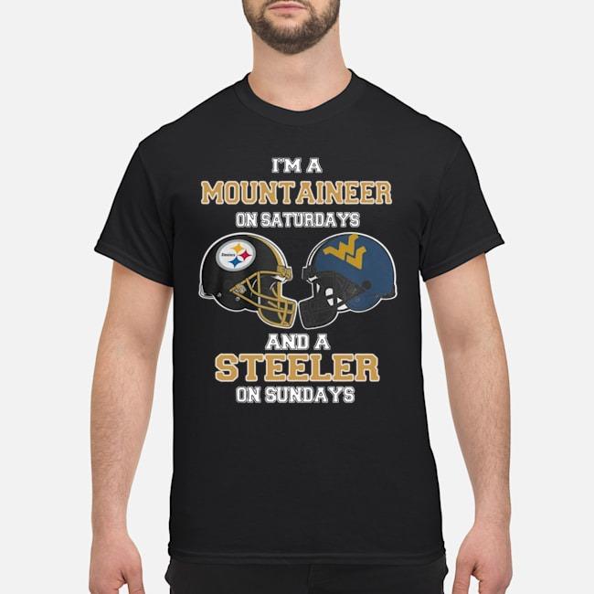 https://kingtees.shop/teephotos/2019/11/I%E2%80%99m-A-West-Virginia-Mountaineers-On-Saturdays-And-A-Pittsburgh-Steelers-On-Sundays-shirt.jpg