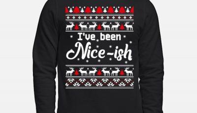 I've Been Nice Ish Ugly Christmas sweater