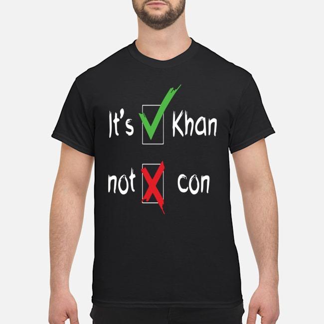 It's Khan Not Kahn shirt
