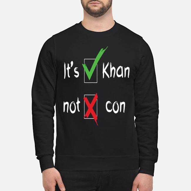 It's Khan Not Kahn sweater